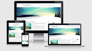 Website eines Ferienhauses auf Teneriffa