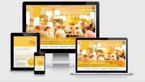 Website des Hotels Sarstedter Hof