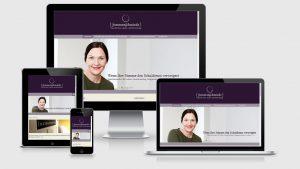 Website der Praxis für Sprechtraining, Stimmtherapie und Sprachtherapie