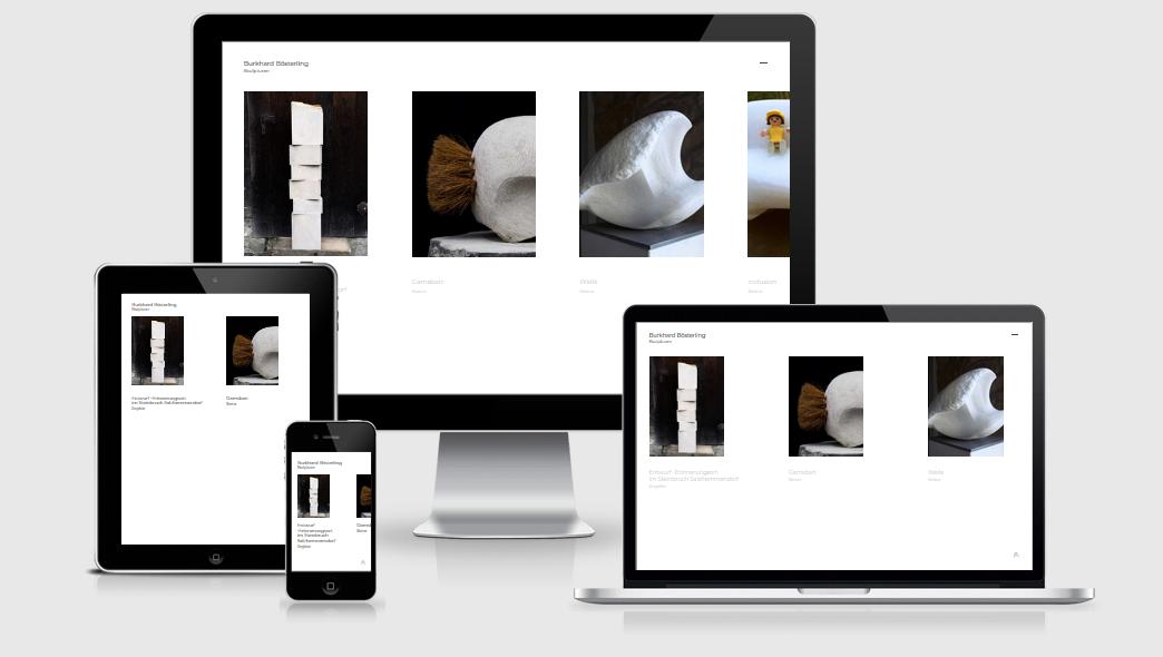 Website von Burkhard Bösterling