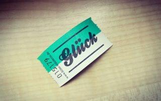 Ticket zum Glück