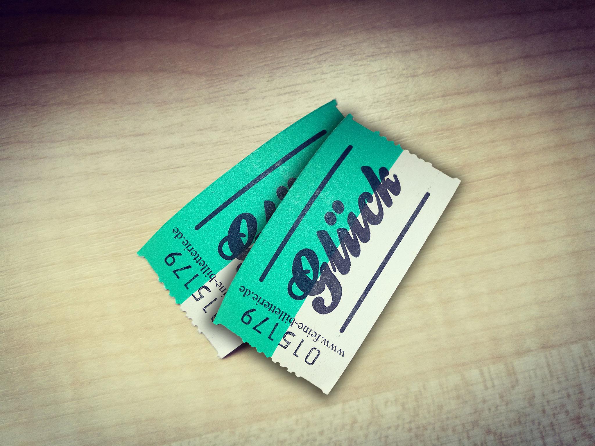 Zwei Tickets zum Glück